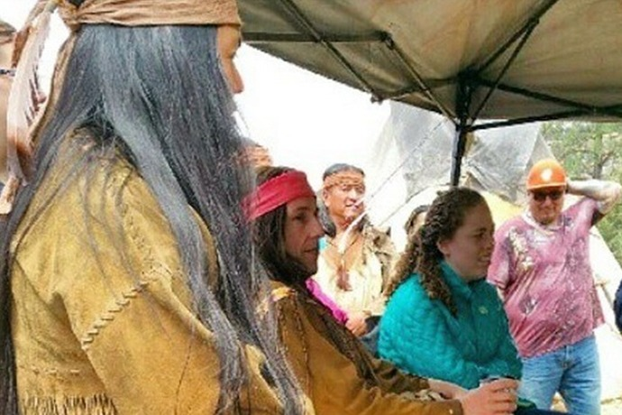 Native Americans Leave movie set_-2913099313698289447