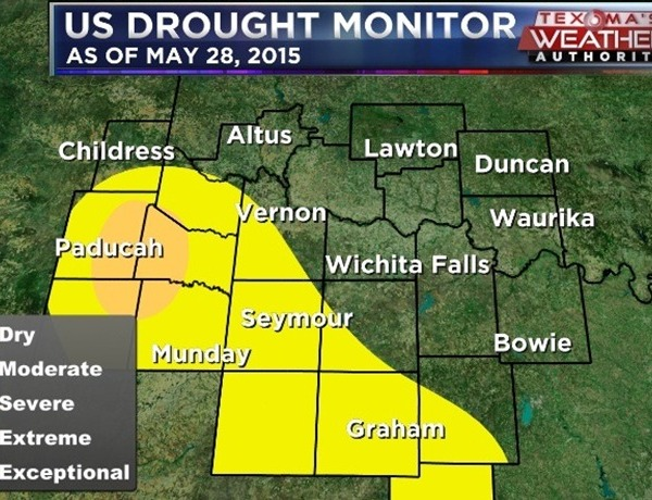 Drought Monitor_  May 28, 2015_4355210321240211675