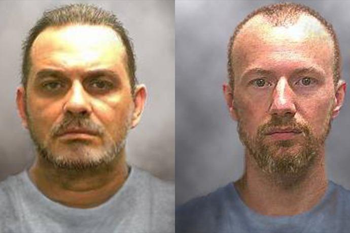 The New York State Police issued these 'progression' photos of Richard Matt and David Sweat on June 17, 2015. Matt, 49, and Swea_-2137829229734967532