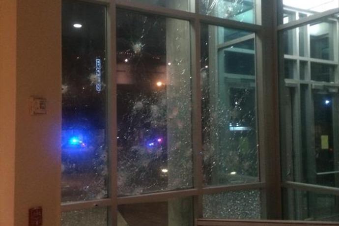 Dallas Police HQ Damage_2641792782741228223