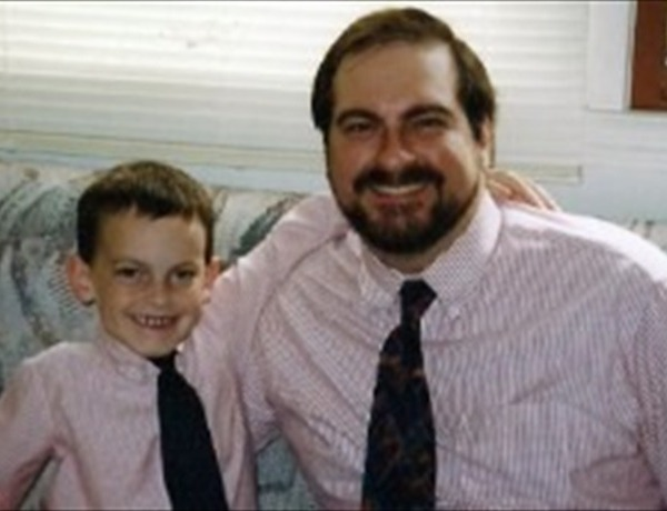 Nick Kaczorowski, left, with his father Lance._-3805190389957768729