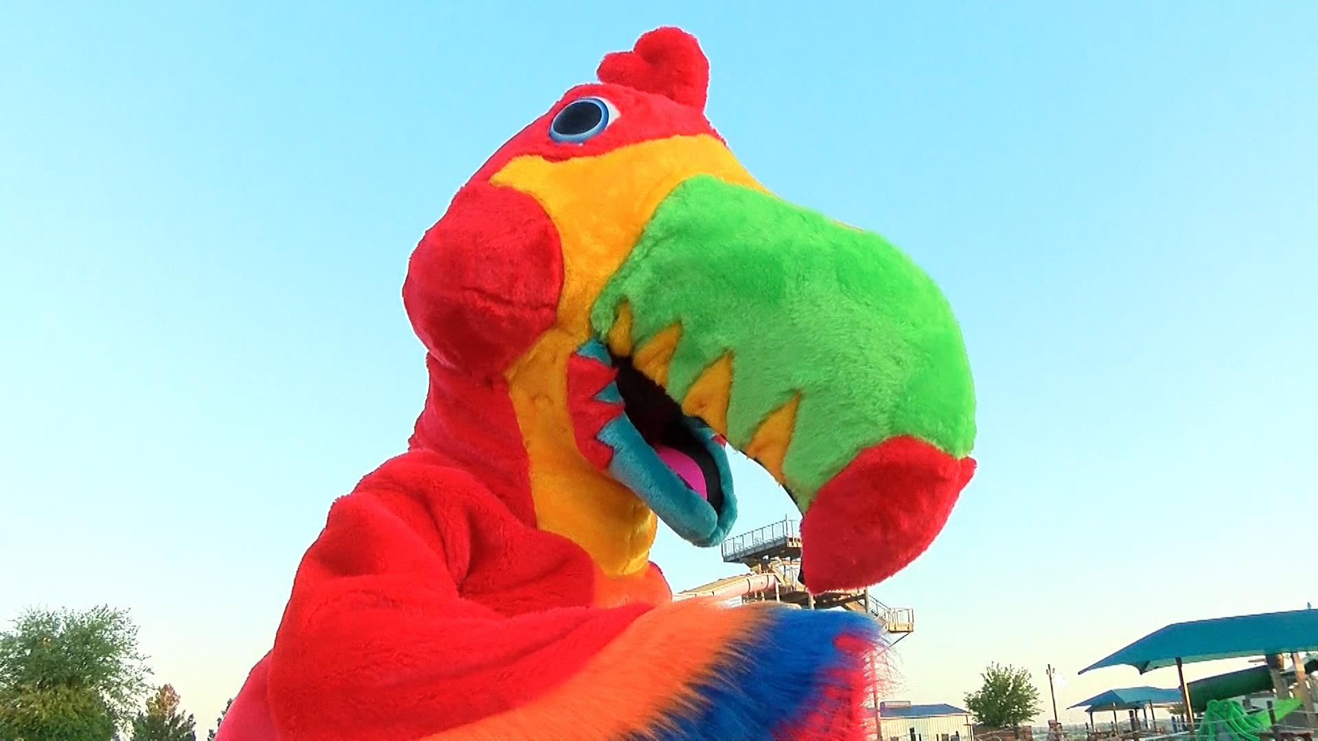 Castaway Cove Mascot