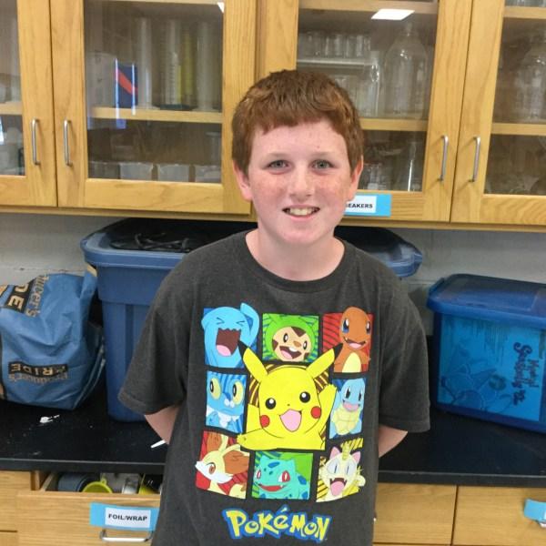 Brendon Mason Cunningham Elementary's Weather Wizard