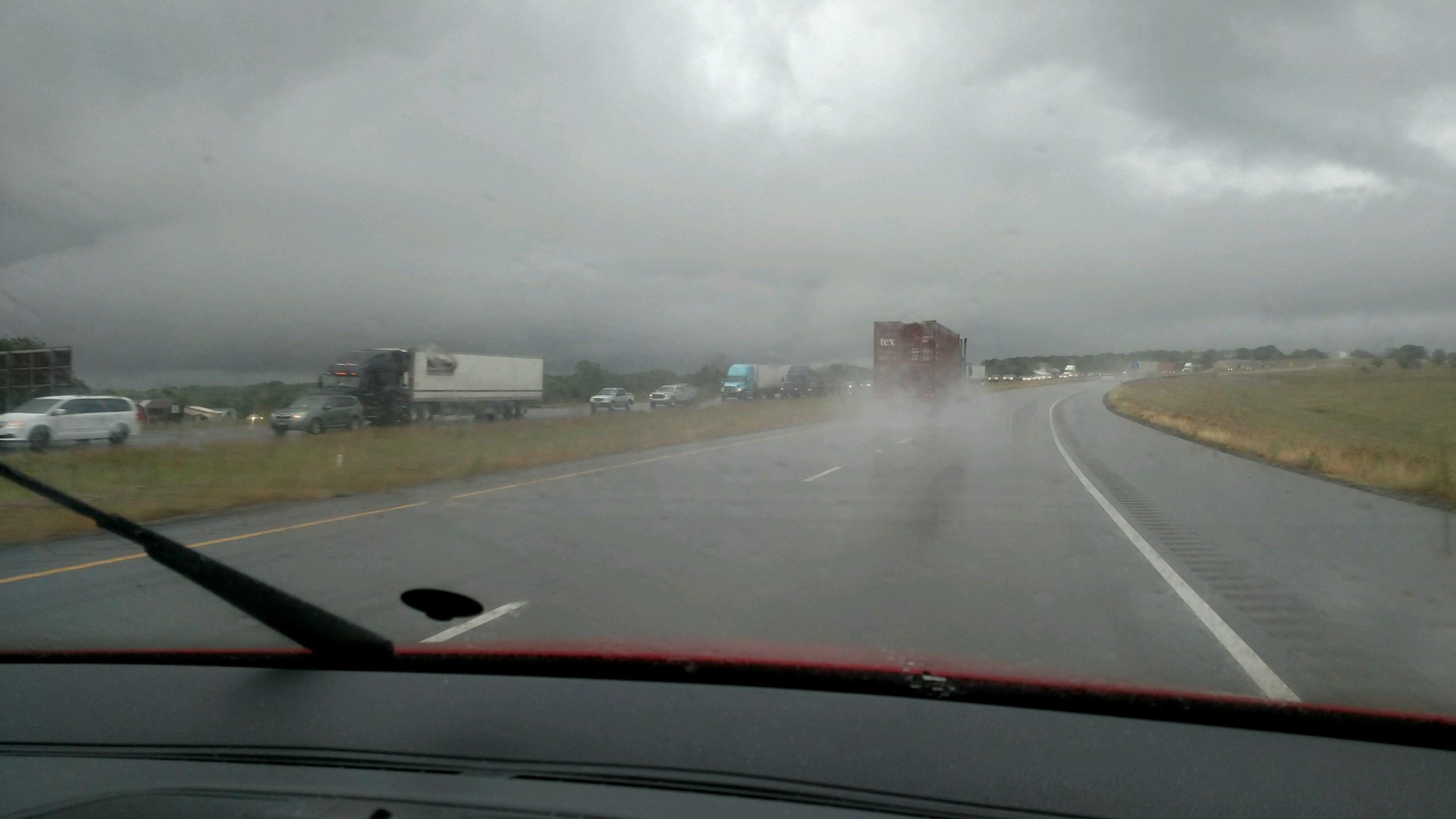 US 287 Wreck