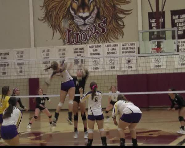 High School Volleyball: Archer City vs Munday - October 30,