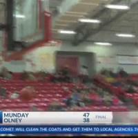 Boys High School Basketball: Munday at Olney - January 23, 2018