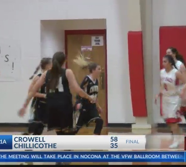 Girls High School Basketball: Crowell at Chillicothe - January 23, 2018