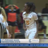 Women's College Basketball: UT-Permian Basin at Midwestern State - February 8, 2018