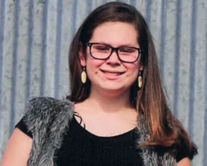Kaylynn Karr, 14, died in an ATV accident in Taylor County on Wednesday.