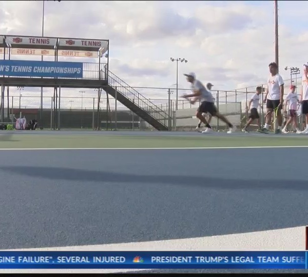 Team of the Week - MSU Men's Tennis - April 17, 2018