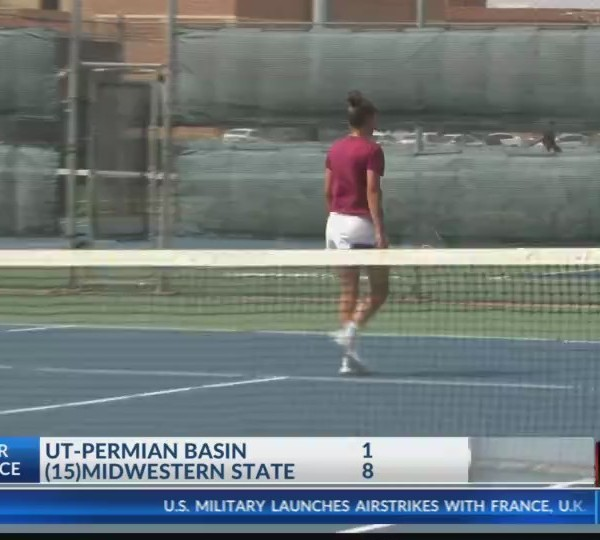 Women's College Tennis: UTPB at (15)Midwestern State - April 13, 2018