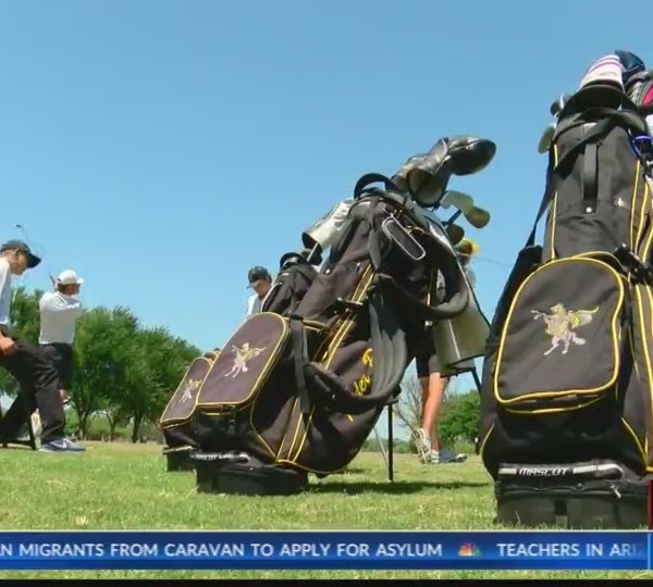 Team of the week: Rider boy's golf - May 1, 2018