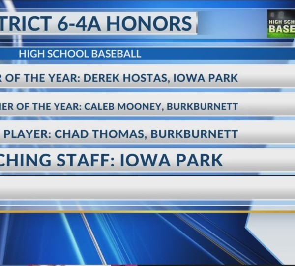 District 6-4A Honors - June 03, 2018