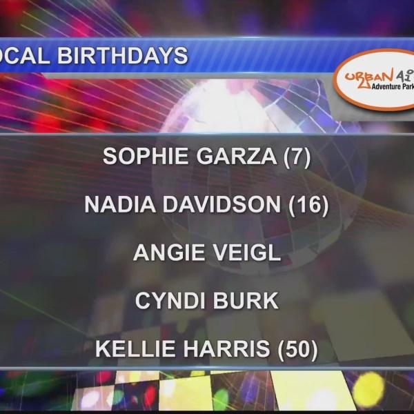 Birthdays & Anniversaries 9/26/18