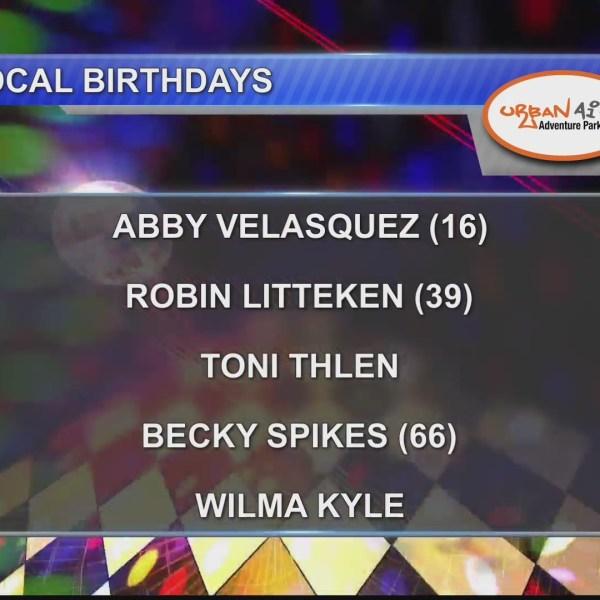 Birthdays & Anniversaries 9/27/18