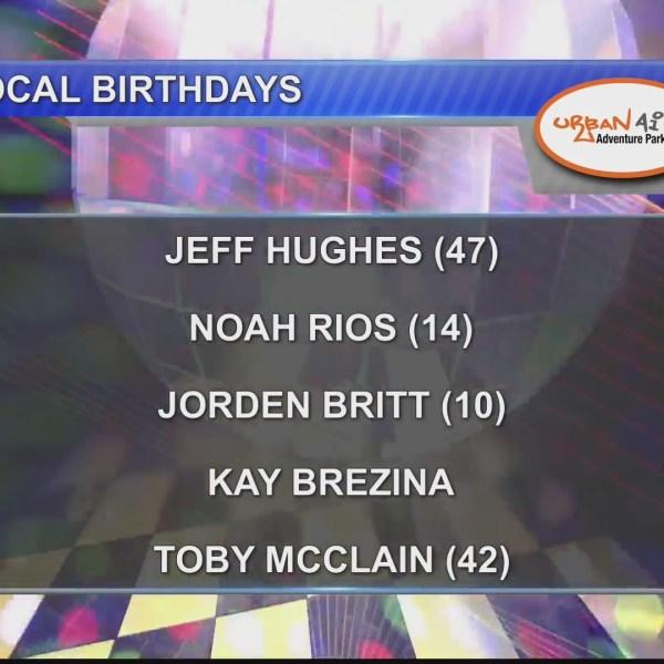 Birthdays & Anniversaries 9/28/18