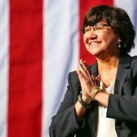 Lupe Valdez at the Texas Democratic Convention-846655081