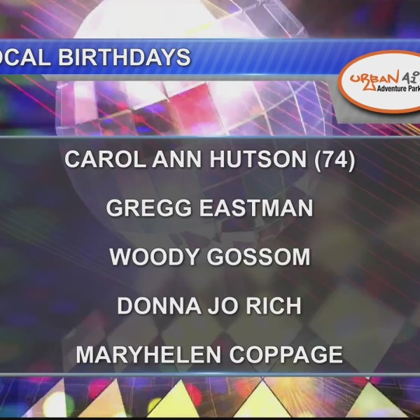 Birthdays & Anniversaries 10/24/18