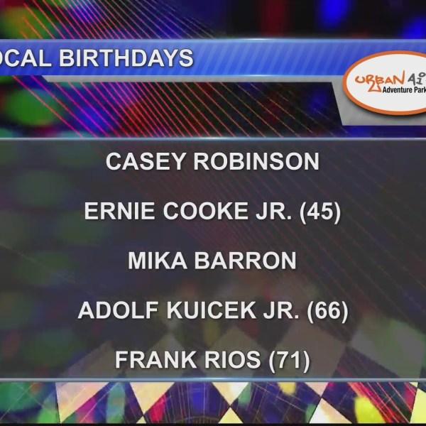 Birthdays & Anniversary 10/11/18