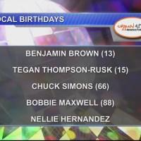 Birthdays & Anniversary 10/9/18