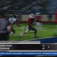 High School Football - Iowa Park at Graham