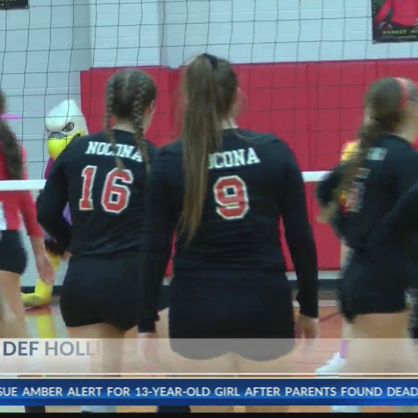 High School Volleyball: Nocona at Holliday