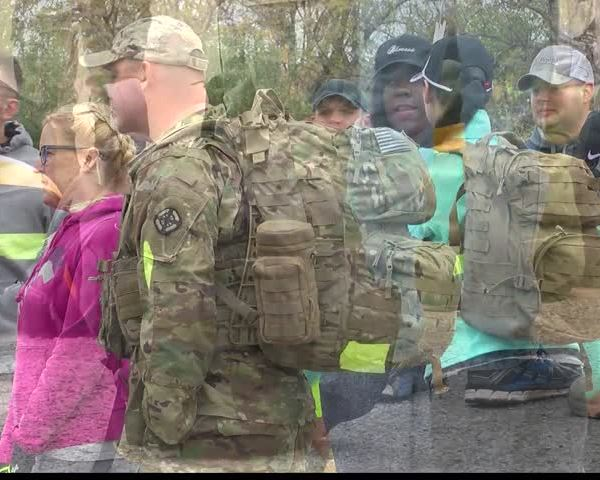 The first Base Camp Lindsey March of Honor took place today_89605910