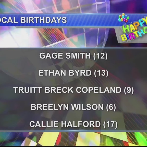 Birthdays & Anniversaries 11/2/18