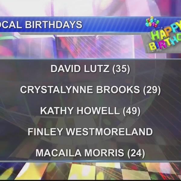 Birthdays & Anniversary 11/13/18