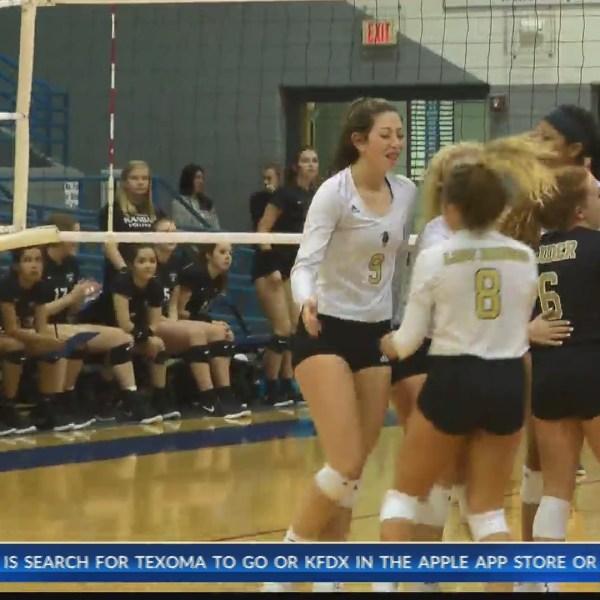 High School Volleyball: Rider vs Canyon Randall