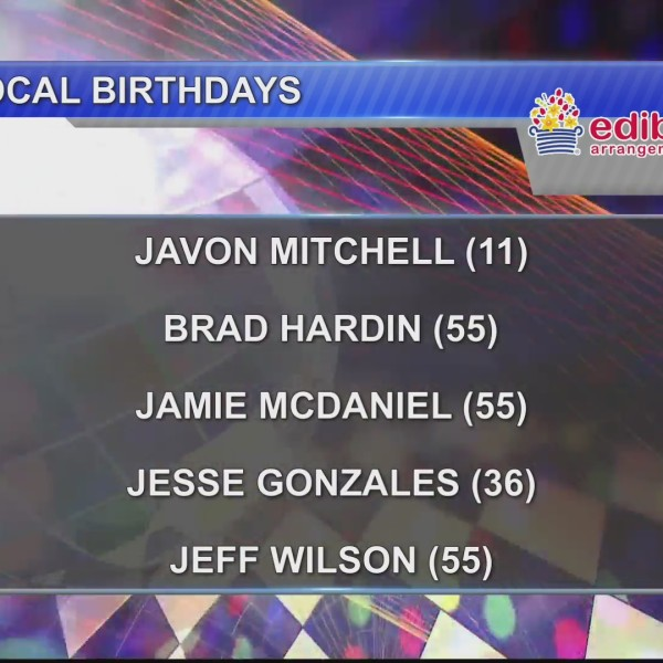 Birthdays & Anniversaries 1/1/19