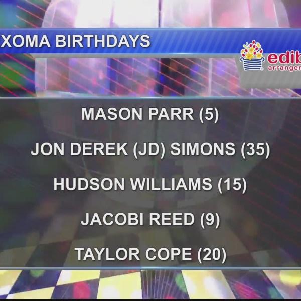 Birthdays & Anniversaries 1/21/19