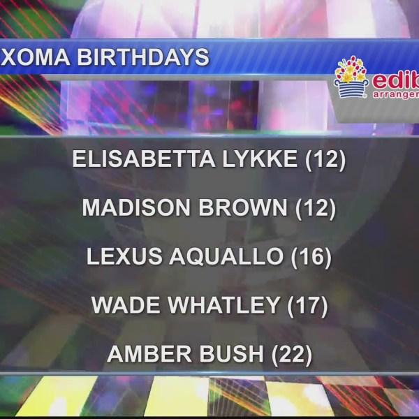 Birthdays & Anniversaries 1/25/19