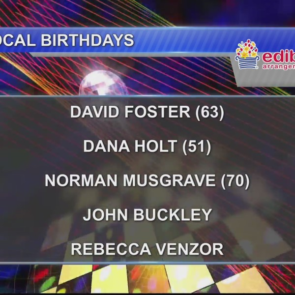 Birthdays & Anniversaries 1/2/18