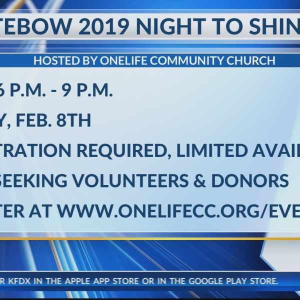 TIM TEBOW 2019 NIGHT TO SHINE