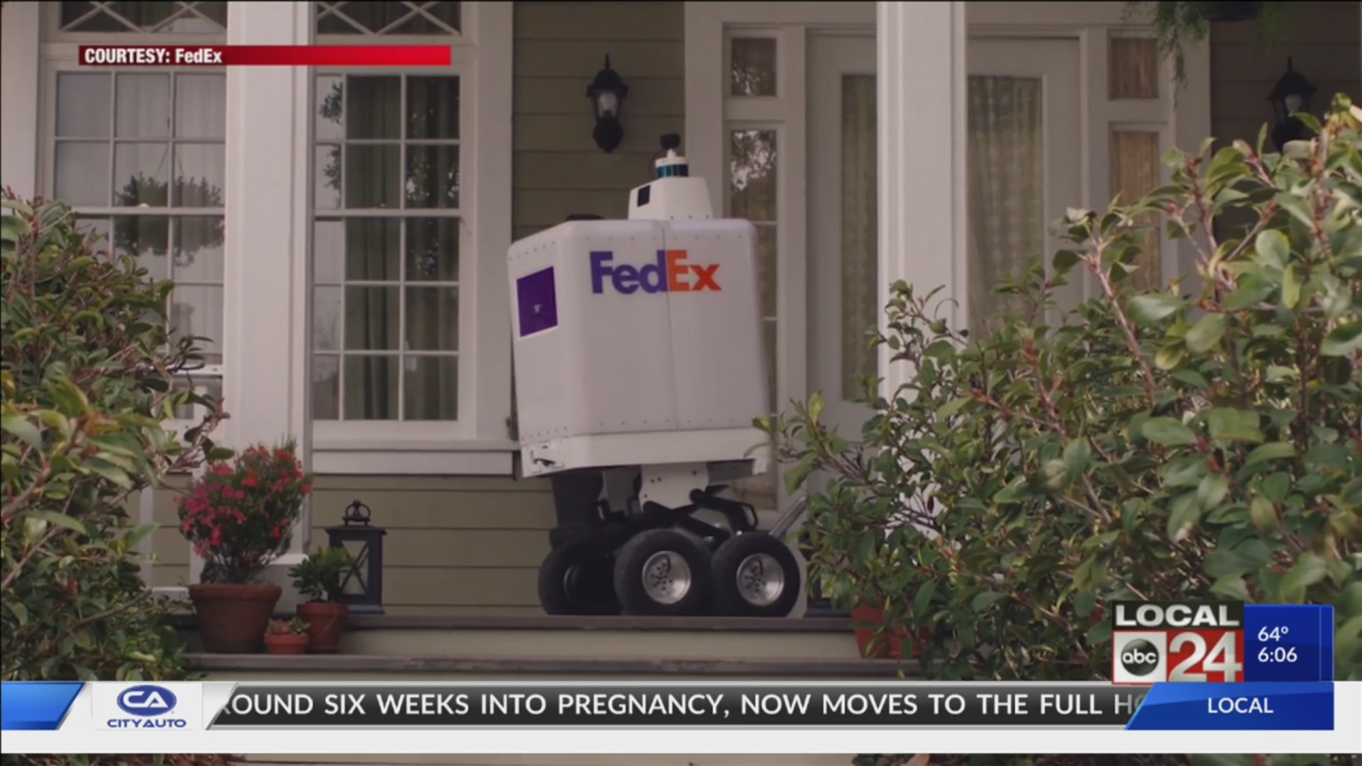 ​​​​​​​FedEx Rolls Out New Delivery Option -- Robots -- With SameDay Bot Service