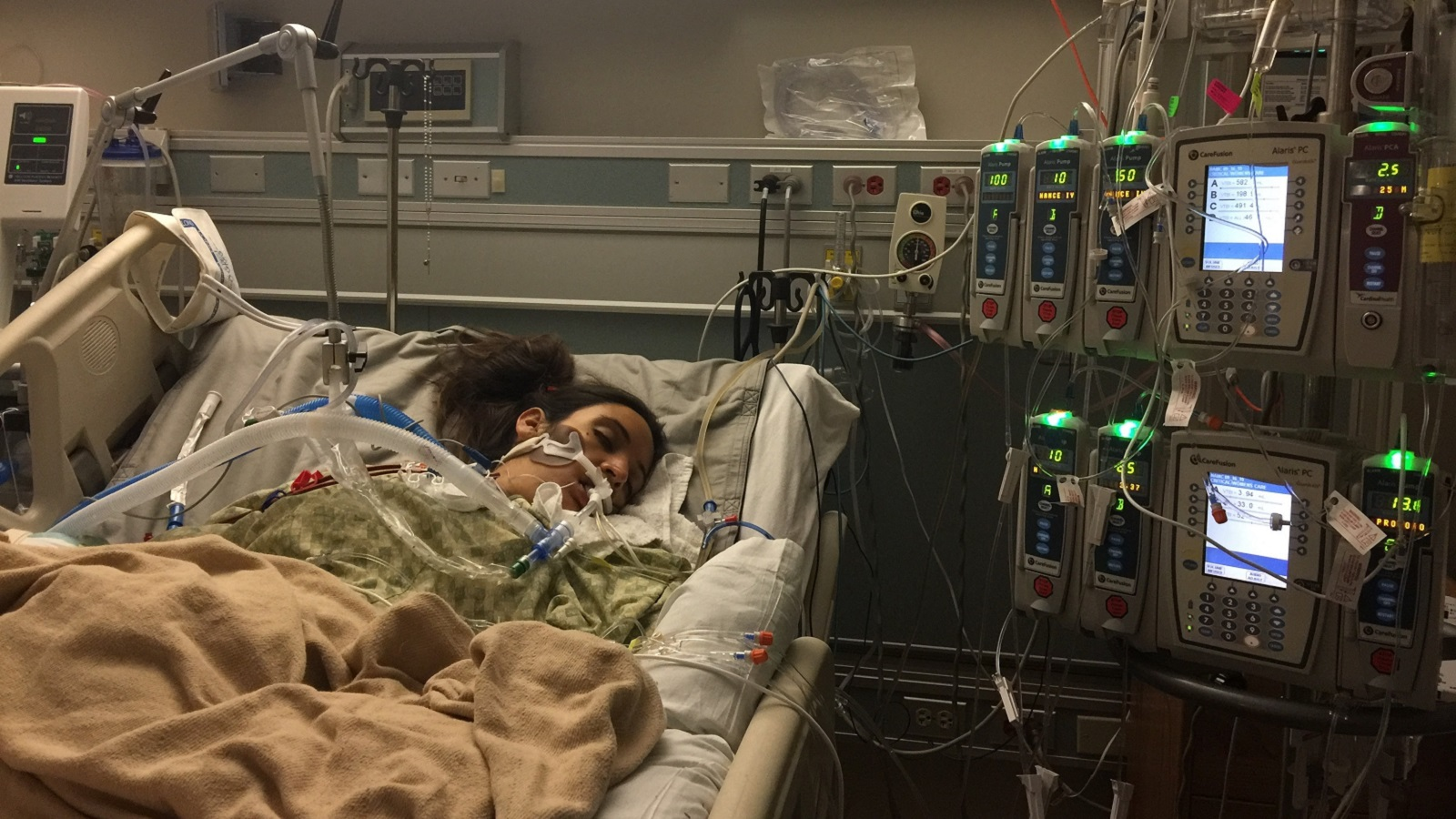 Leah Bahrencu hospitalized - mothers erased-846655081