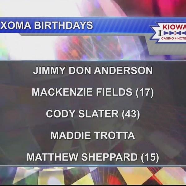 Birthdays & Anniversaries 5/20/19
