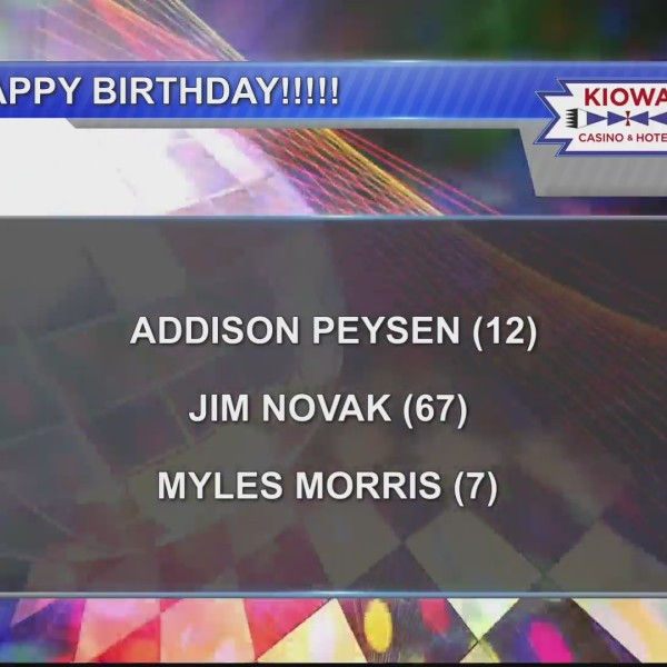 Birthdays & Anniversaries 6/6/19