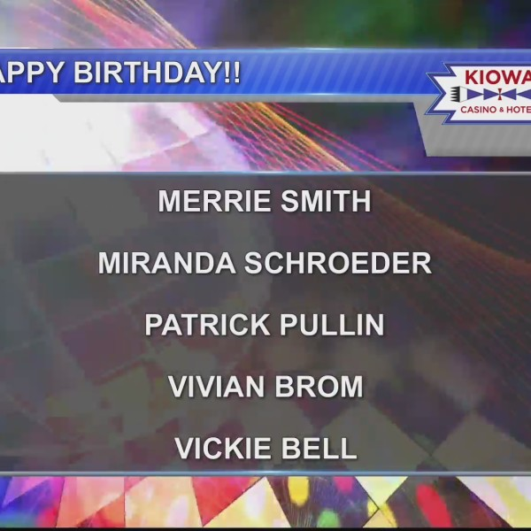 Birthdays & Anniversaries 6/7/19