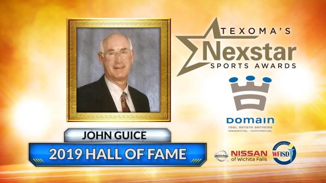 2019 Nexstar Sports Awards Hall of Fame Inductee - John Guice