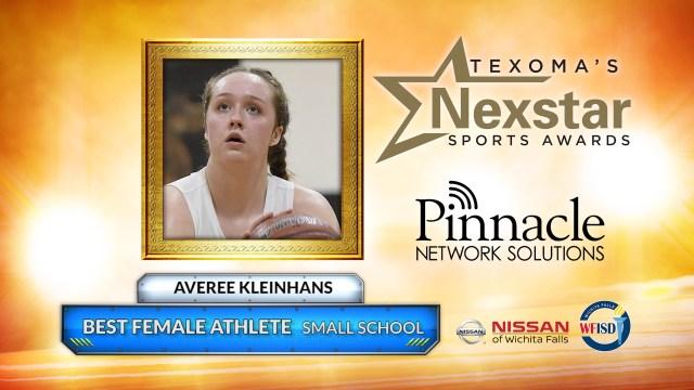 2019 Texoma's Nexstar Sports Awards Small School Best Female Athlete