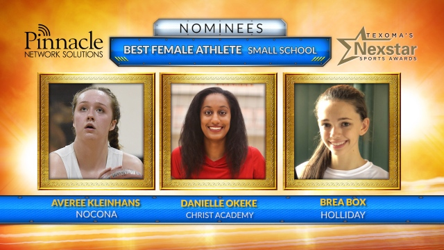 Texoma's Nexstar Sports Awards 2019 nominees Best Female Athlete from a Small School