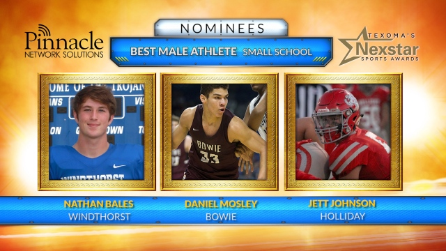 Texoma's Nexstar Sports Awards 2019 nominees for Best Male Athlete from a Small School