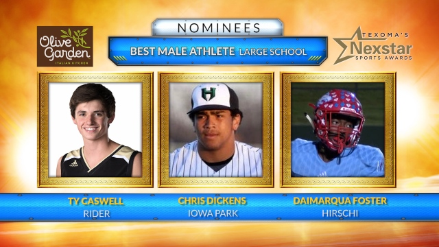 Texoma's Nexstar Sports Awards 2019 nominees for Best Male Athlete from Large School