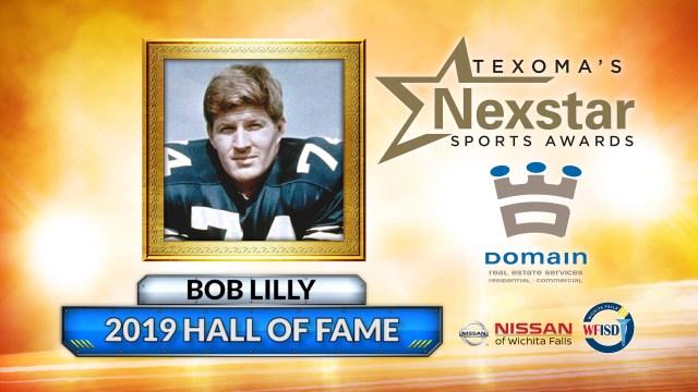 2019 Nexstar Sports Awards Hall of Fame Inductee - Bob Lilly