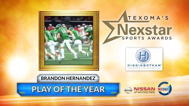 2019 Texoma's Nexstar Sports Awards Play of the Year