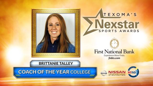 2019 Texoma's Nexstar Sports Awards College Coach of the Year