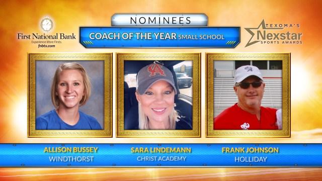 Texoma's Nexstar Sports Awards 2019 Nominees for Small School Coach of the Year