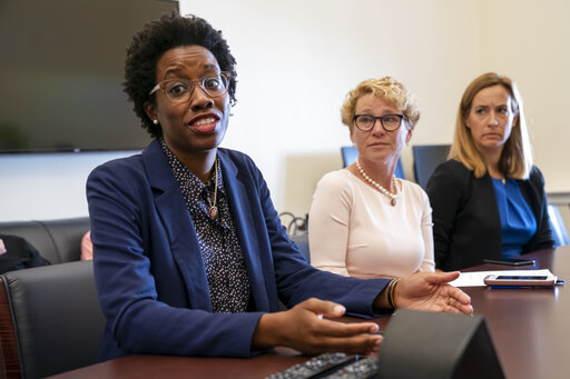 Lauren Underwood, Chrissy Houlahan, Mikie Sherrill
